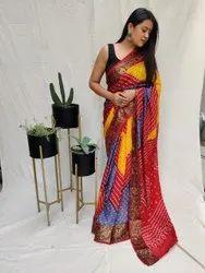 Art Silk With Zari Waving saree