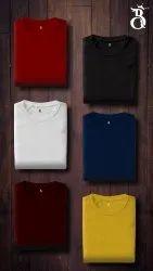 Plain Round neck Tshirts