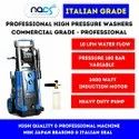 Italian Grade Commercial High Pressure Cold Water Jet Machine With Induction Motor