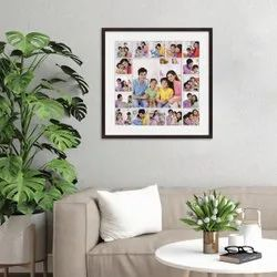 Customised Photo Collage Frame Gift for Family