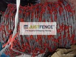 275 GSM Barbed Wire - PVC Coated Barb