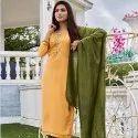 Ladies Stitched Cotton Salwar Suit