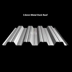 3.6mm Metal Deck Roof