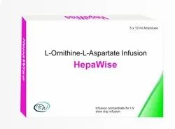 L Ornithine L Aspartate Infusion Injection
