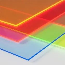Coloured Fluorescent Acrylic Sheet