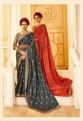 Ladies Designer Vhichitra Silk Saree