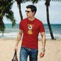 iKraft Men's Red T-Shirt