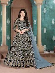 Ladies Designer Gown With Dupatta