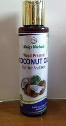 Wood Pressed coconut oil, For Hair Care And Skin Care, Packaging Size: 110ml