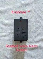 Voice Alarm Seatbelt