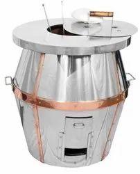 Silver Barrel Tandoor