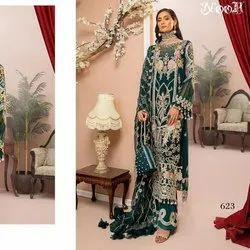 Pakistani Semi Stitched Suit