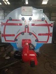 Oil Fired 8 TPH Industrial Steam Boiler, IBR Approved