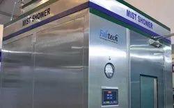 High Pressure Mist Shower System For Pharmaceuticals
