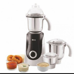 BOSS B 242 Mixer Grinder, For Wet & Dry Grinding, 750 W