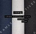 Toko 100% Cotton Print Shirting Fabric
