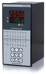 MS-5716R 16 Channel Temperature Scanner