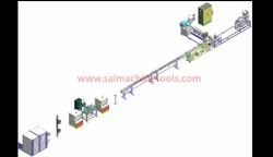Inline Flat Drip Tube Extrusion System