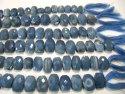 Natural Blue Opal Oval Shape 10x14mm Beads Sold Per Strand 10 Inches Long For Jewellery Making