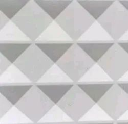 White 3d Wall Tile Designs, Thickness: 5-10 mm, Size: 60 * 60 (cm)