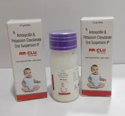 Amoxicillin 200mg+Cavulanic acid 28.5mg Dry Syp
