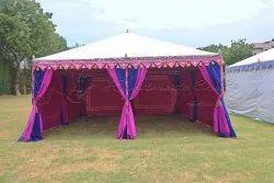 Multcolour Indian Raj Garden tent