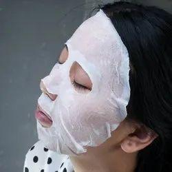 Disposable Facial Mask Tablet  Spunlace White