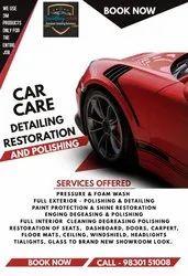 Snow Foam Wash Luxury Car Polishing Service