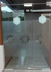 Transparent Glass Etching Film
