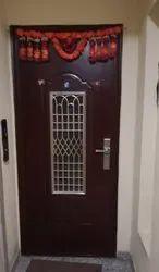 Standard Brown Front Stainless Steel Door, For Home, Single