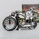 Plastic Creative Motorbike Pattern Alarm Clock - 1 Box