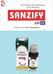 Azithromycin 200mg/5ml  Syrup