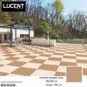 16x16 Brown Parking Vitrified Tiles