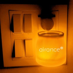 Orange Camphor Aroma Diffuser With Night Lamp