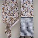 Hand Block Printed Dupatta Cotton Dress Material
