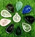 Natural Stones Diya (Rose Quartz, Lapis, Green Aventurine, Sphatick,Etc)