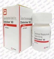Dalsiclear Daclatasvir Dihydrochloride 60mg
