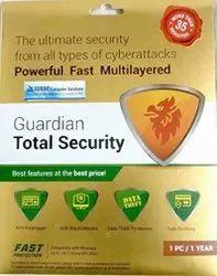 1 User 1 Year Guardian Total Security Antivirus
