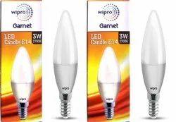 Ceramic Wipro Garnet 3 W LED Candle