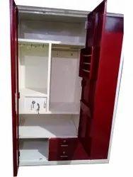 Red Steel Locker Almirah