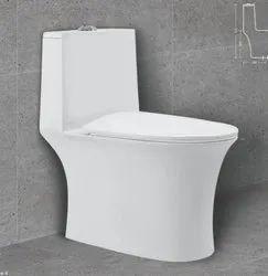 Radon Ceramic One Piece Toilet Seat