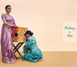 Ladies Cotton Chit Pallu Saree