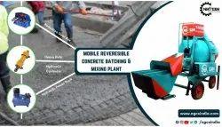 3 Bin Type Reversible Concrete Batching Plant