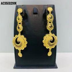 Trendy High Quanlity Gold Plated Earrings for Women
