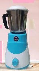 White and blue Mixer Grinder - 500 Watt
