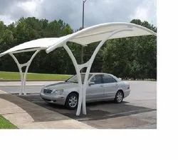 Car Parking Shed for Hotel