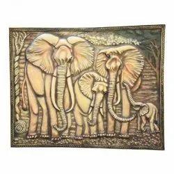 Herd of Elephants Mural
