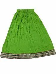 Ladies Rayon Fancy Skirt