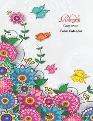 2022 Hindi Corporate Table Top Calendar, For Promotion