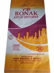 Ronak Acrylic Distemper Paint, 20kg
